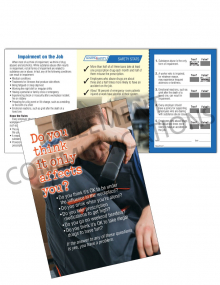 Health - Impairment – Safety Pocket Guide with Quiz Card