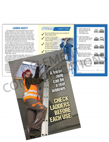 Ladder Safety - Check - Safety Pocket Guide with Scratch-Off Quiz Card