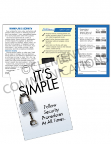 Security – It's Simple – Safety Pocket Guide with Quiz Card