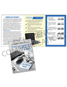 Security – Badges – Safety Pocket Guide with Quiz Card