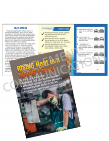 Heat Stress – Rising Threat – Safety Pocket Guide with Quiz Card