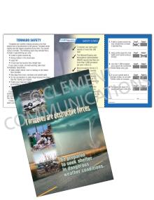 Tornado Safety - Destructive - Safety Pocket Guide with Quiz Card