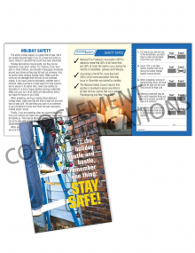 Seasonal Safety - Hustle - Safety Pocket Guide with Quiz Card