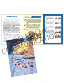 Seasonal Safety - Tradition - Safety Pocket Guide with Quiz Card
