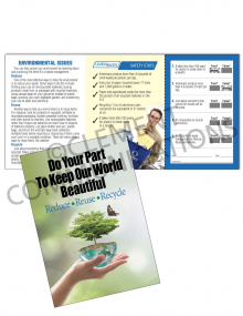 Environmental Safety – Do Your Part – Safety Pocket Guide with Quiz Card