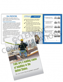 Fall Protection - Heights Safety Pocket Guide with Quiz Card