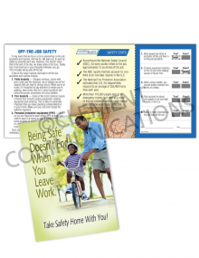 Off-the-Job Safety - Bike - Safety Pocket Guide with Quiz Card