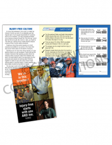 Injury Free Culture – We're In This Together Safety Pocket Guide with Quiz Card