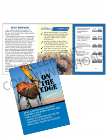 Heavy  Equipment – On The Edge – Safety Pocket Guide with Quiz Card