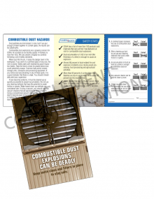 Combustible Dust – Fan – Safety Pocket Guide with Quiz Card