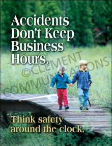 Accident Prevention - 24/7 - Poster