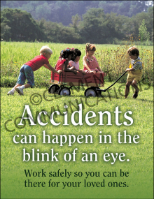 Accident Prevention - Wagon - Poster