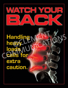 Back Safety – Spine – Poster