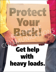 Back Safety – Heavy Box – Poster