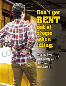 Back Safety – Bent Out of Shape – Poster