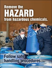 Chemical HazCom – Handling – Poster