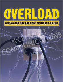 Electrical Safety – Overload – Posters