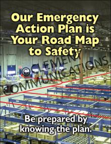 Emergency Preparedness – EAP – Poster