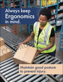 Ergonomics – Posture – Posters