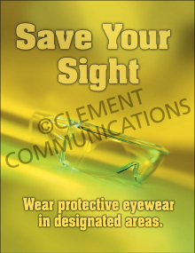 Eye Protection - Sight Posters