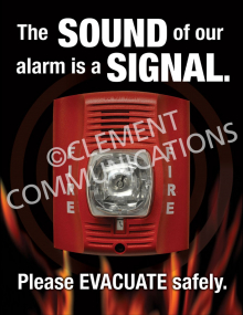 Fire Safety - Alarm Posters
