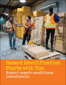 Hazard Identification - Starts With You - Posters