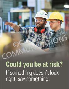 Hazard Identification - Risk – Posters