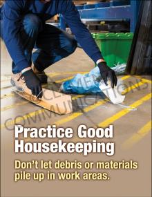 Housekeeping - Debris – Posters