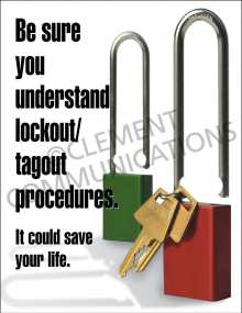 Lockout/Tagout - Understand - Posters