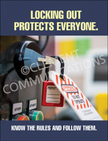 Lockout/Tagout - Protect - Posters