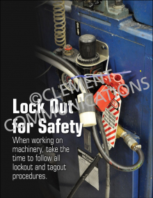 Lockout/Tagout - Safety - Posters
