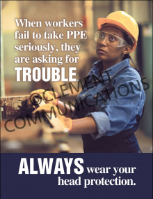 PPE – Head Protection – Posters