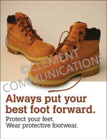PPE – Footwear – Posters