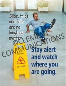 Slips, Trips, Falls - Watch – Posters