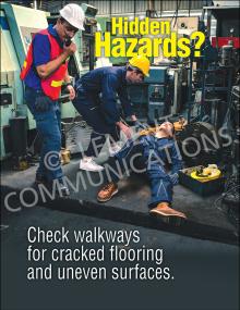 Slips, Trips, Falls – Hidden Hazards - Posters