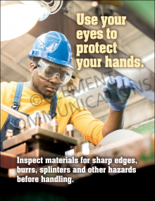 Hand Protection - Inspect Posters
