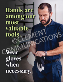 Hand Protection - Gloves Posters