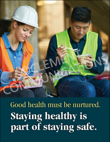 Health - Staying Safe - Posters