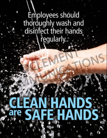 Handwashing - Clean Hands-Safe Hands - Poster