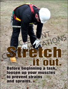 Health - Stretching - Posters