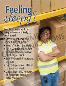 Health - Fatigue – Posters