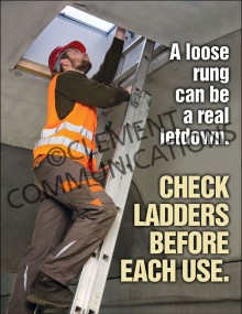 Ladder Safety - Check - Posters