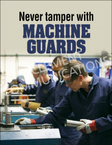 Machine Guards - Don't Tamper - Poster
