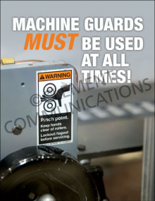 Machine Guards – Don't Remove – Poster