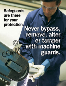 Machine Guards – Safeguards – Poster