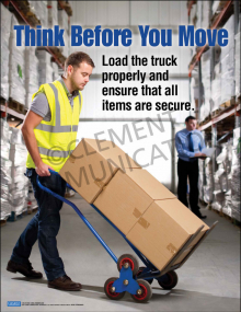 Material Handling – Think Before – Posters