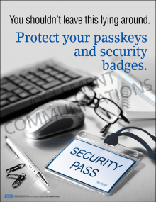 Security – Badges – Posters
