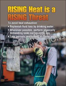 Heat Stress – Rising Threat – Posters
