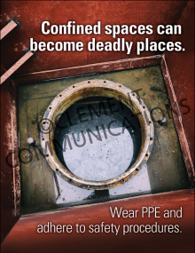 Confined Spaces – Deadly Places – Posters