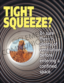 Confined Spaces – Tight Squeeze – Posters